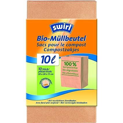 Swirl 2049673 para residuos orgánicos 10 x 10 piezas