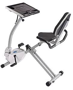Stamina 2-in-1 Recumbent Exercise Bike