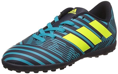 designer fashion 4c242 f63e8 Adidas Nemeziz 74 Tf J, Scarpe per Allenamento Calcio Bambino, (Legend Ink