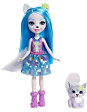 Enchantimals FRH40 Winsley Wolf Doll and Trooper Figure, Multi-Colour