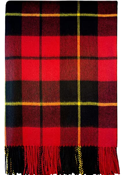Image Unavailable. Image not available for. Color  Wallace Modern Tartan  Lambswool Blanket a2c80661b
