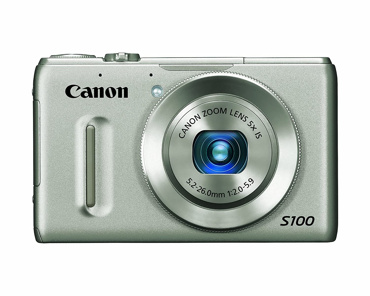 Canon PowerShot S100 12 1 MP Digital Camera with 5x Wide Angle Optical  Image Stabilized Zoom (Silver)
