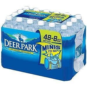 Deer Park Deer Park Natural Spring Water (48/8 Fl Oz Net Wt 384 Fl Oz), 384 fl. oz.