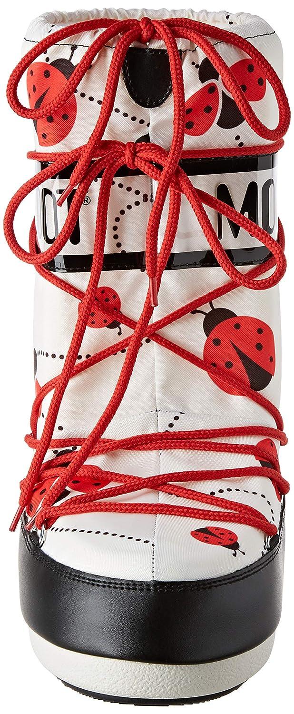 Moon-boot Moon Boot Jr Girl Ladybug Stivali da neve Unisex bambini
