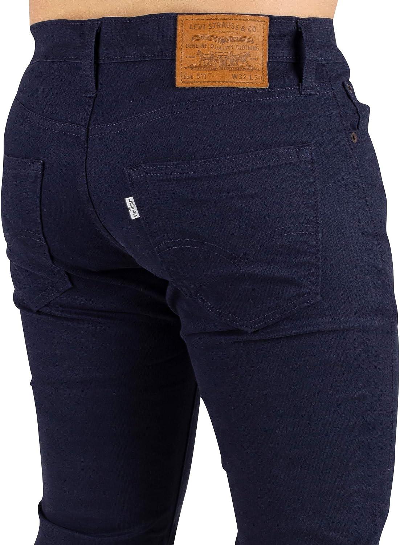 Levi's Hombre 511 Slim Fit Jeans, Azul Azul