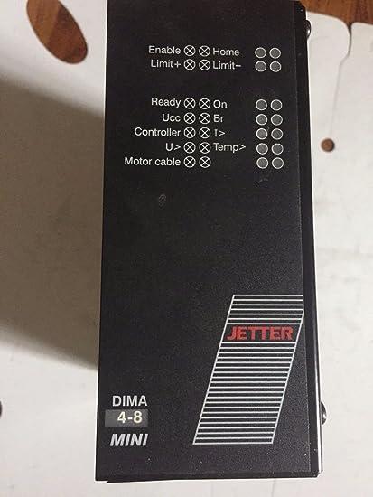 DIMA 3-ES-8 SERVO DRIVE UNIT JETTER