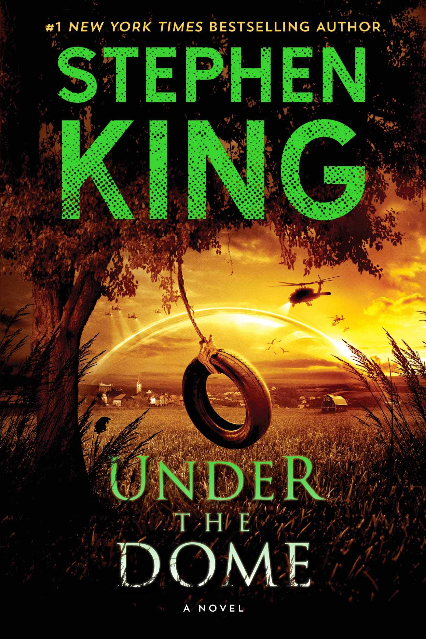 Under The Dome A Novel Stephen King 9781439149034 Amazon