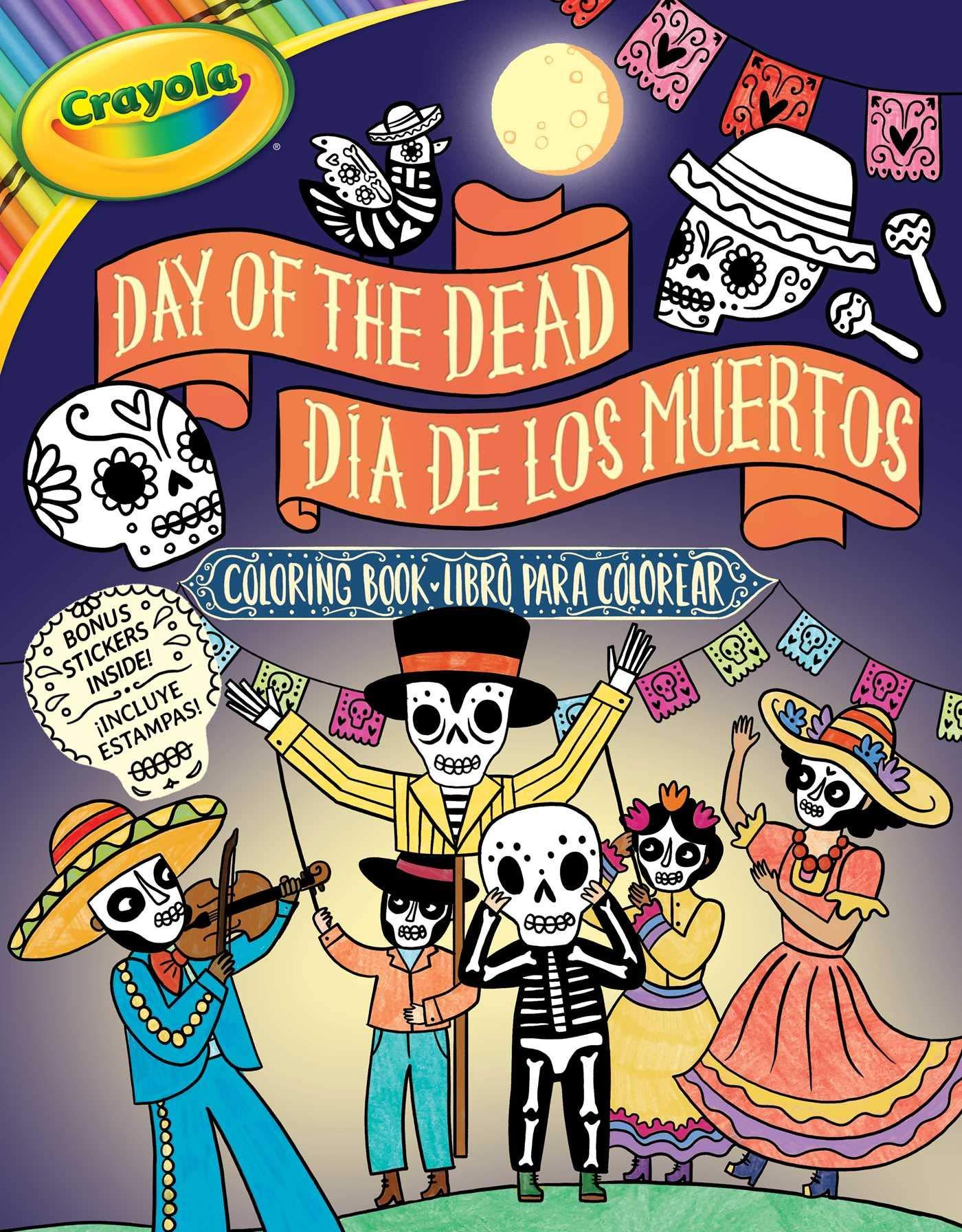 - Crayola Day Of The Dead/Día De Los Muertos Coloring Book (7