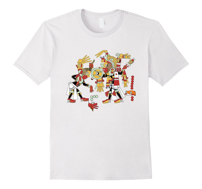 7e9038b83 Mayan Ritual Design T Shirt Archeology Student Teacher Tee-ANZ ...