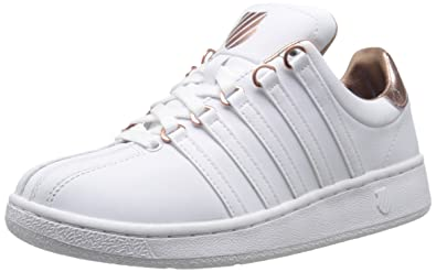 K-Swiss - Classic VN Aged Foil Rose - Chaussures Baskets basses Femme