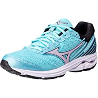 Mizuno Australia Women's Wave Rider 22 Running Shoes, Angel Blue/Lavender Frost/Black, 8 US