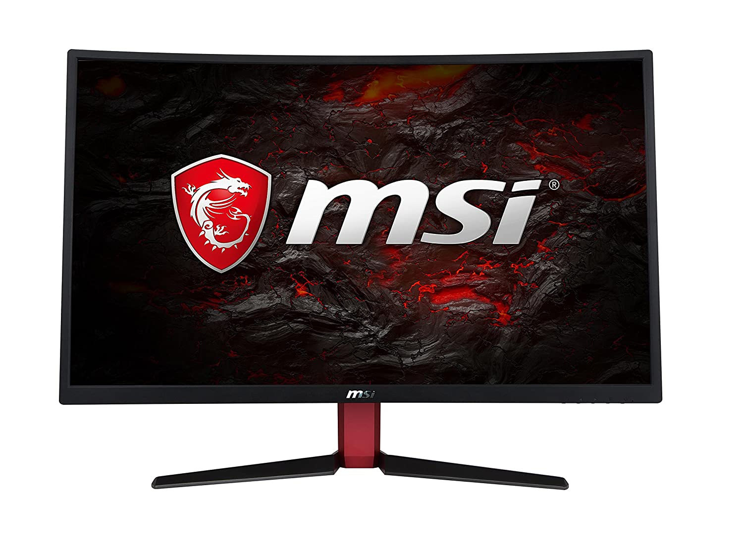 "MSI Full HD Non-Glare Super Narrow Bezel 1ms 1920 x 1080 144Hz Refresh Rate True Color FreeSync 27"" Curved Gaming Monitor (Optix G27C2)"
