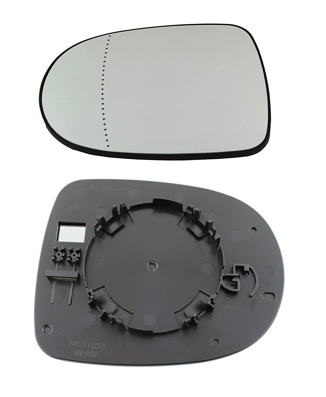 TarosTrade 57-0347-L-51195 Vetro Specchietto Retrovisore Lato Sinistro DoctorAuto LTD