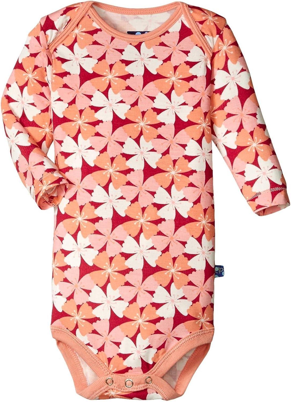 KicKee Pants Baby Girls' Print Long Sleeve One Piece Prd-kpo116f16d1-ab
