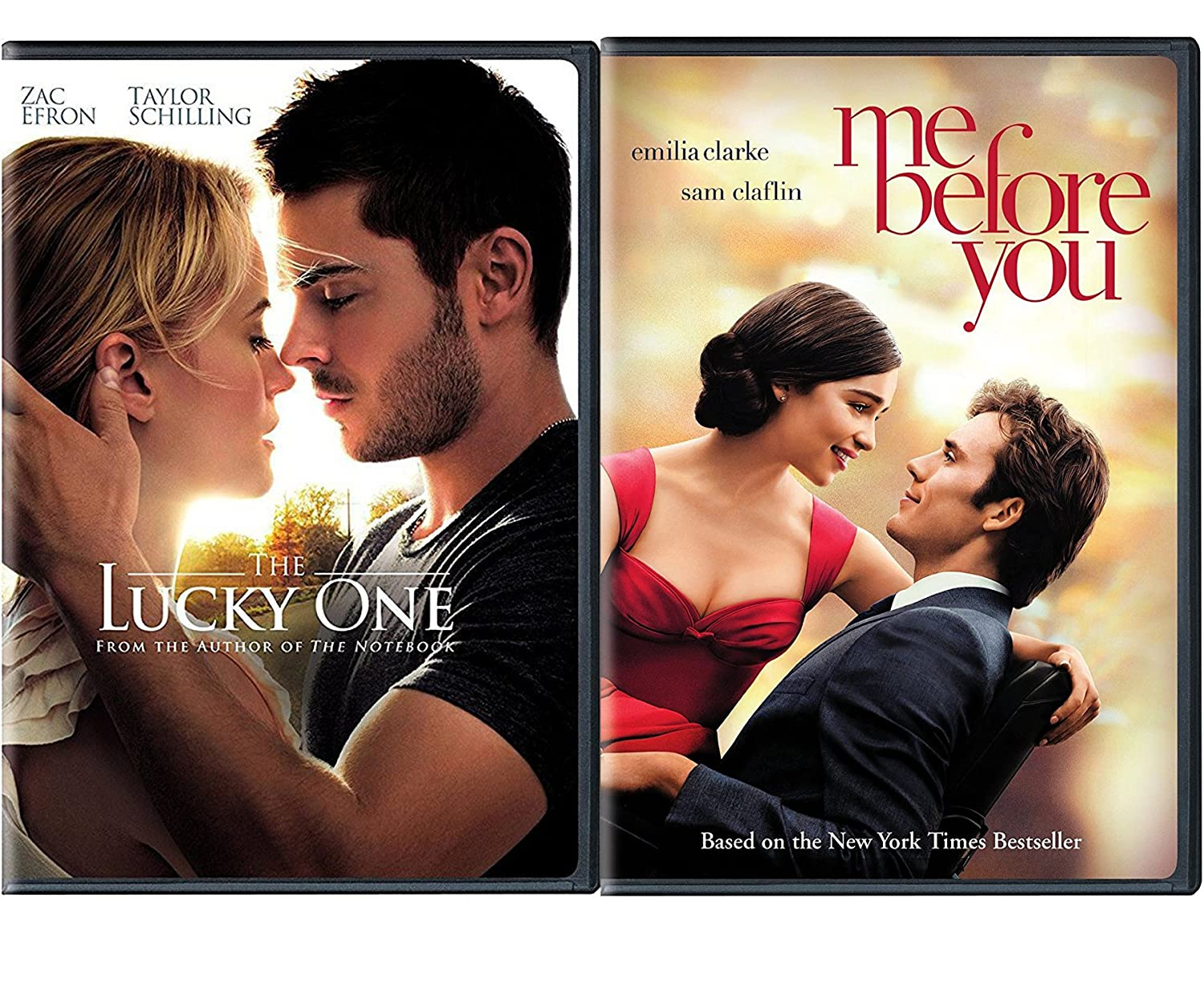 Lucky Romance Movies DVD Me Before You & The Lucky One Double Love ...
