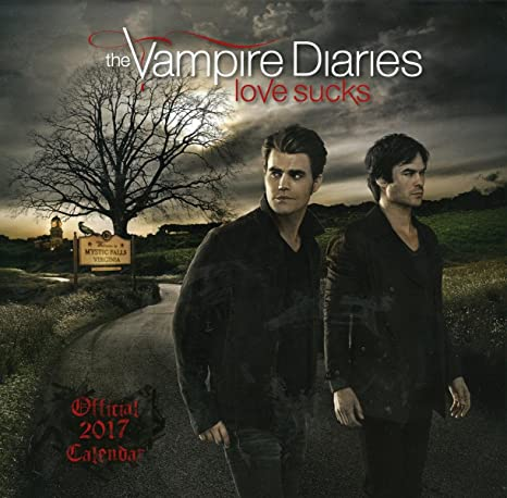 The Vampire diares 2017 (30,5 x 30,5 Cm), en Original ...