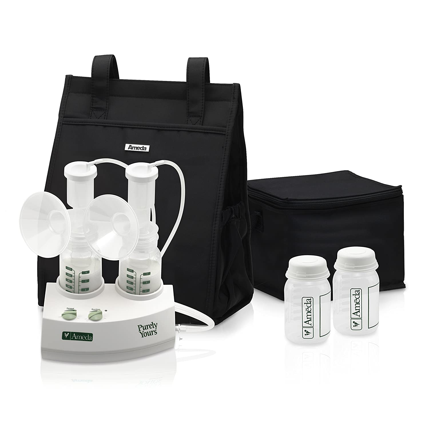 Amazon Com Ameda Purely Yours Double Electric Breast Pump White