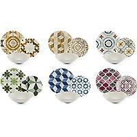 Excelsa Heritage - Vajilla de 18 piezas, porcelana