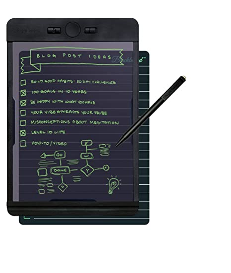 abce69e8 Boogie Board Drawing Tablet Blackboard Note : Learning Resources Homeschool  Supplies Great for Note Taking Drawing Pad Feels Just Like Paper and ...
