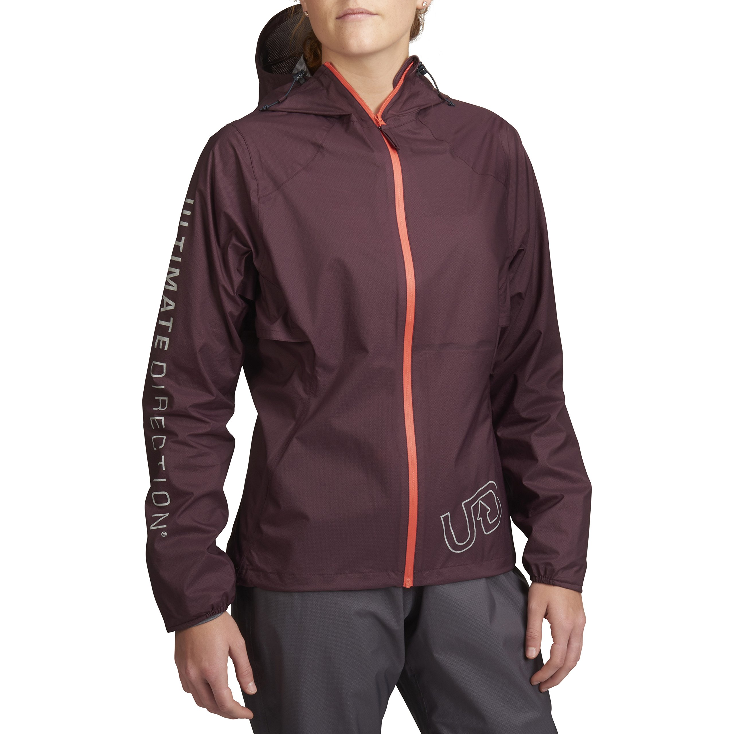 Ultimate Direction Women's Ultra Jacket V2, Fig, Small