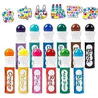 Shuttle Art 12 Colors Washable Dot Markers, Bingo Daubers Dabbers Dauber Dawgs for Kids Toddlers Preschool Children Art…