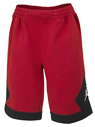 ffc335d3a87e64 Amazon.com  Nike Boys Jordan Varsity Shorts - Gym Red (Large)  Clothing