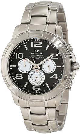 Viceroy 40323-15 - Reloj de Pulsera Hombre, Acero Inoxidable ...