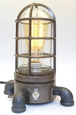 Industrial Explosion Proof Desk Lamp Steampunk Light #62