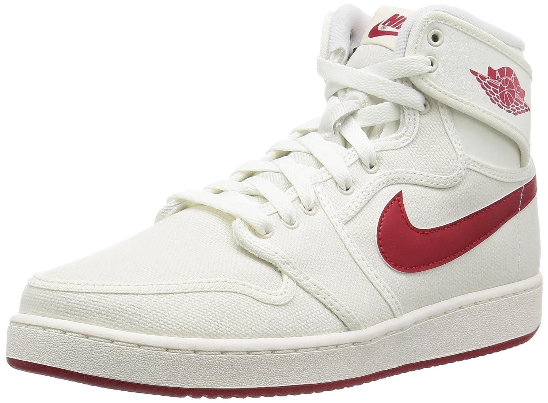 Nike Herren Aj1 KO High OG Turnschuhe, Talla  45 EU|Azul / Rojo (Sail / Varsity Red)