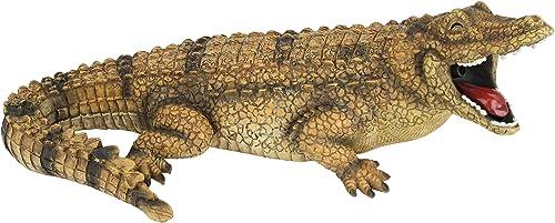 Design Toscano QM2608000 Striker The Alligator Spitter Piped Statue