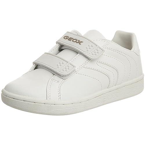 Geox J-Mania Boy P - Zapatillas de cuero niño: Amazon.es: Zapatos y complementos