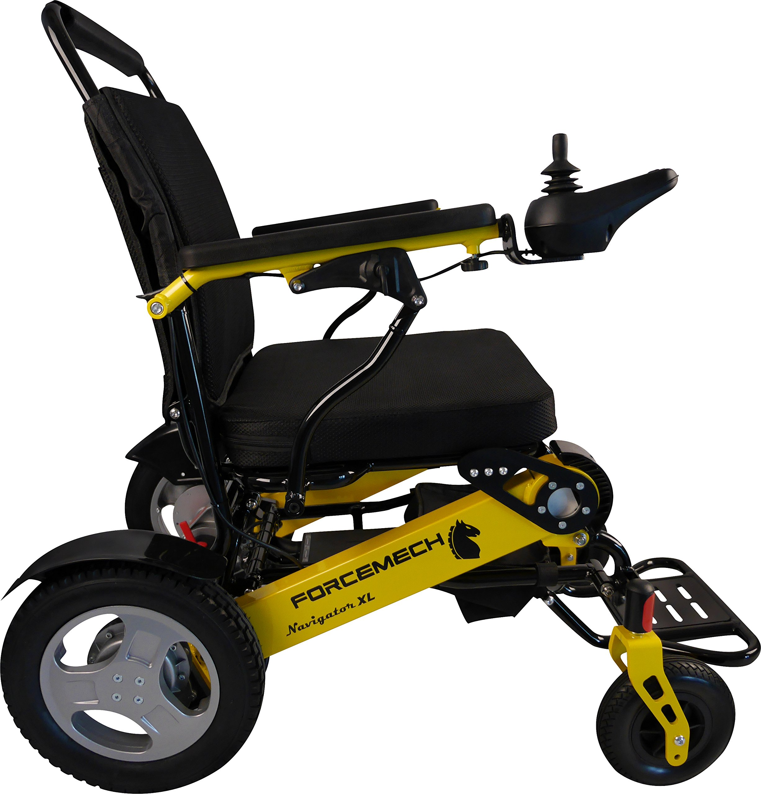 Forcemech Power Wheelchair - Navigator XL, Electric Folding Mobility Aid by Forcemech