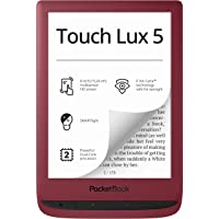 """PocketBook Czytnik e-booków """"Touch Lux 5"""" (8 GB pamięci, wyświetlacz o przekątnej 15,24 cm (6 cali), SMARTlight, Wi-Fi…"""