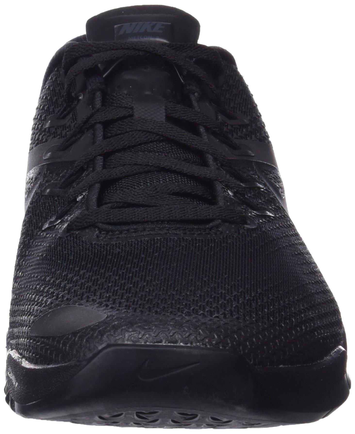 Nike Men's Metcon 4 Training Shoe Black/Black-Black-Hyper Crimson 7.5 by Nike (Image #4)