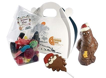 Estuche de Navidad con forma de corazón relleno de chocolate ...