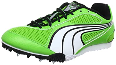 ce4ea3de6ab1 Puma Complete TFX Star Unisex Adult 184734 Track and Field Shoes green Size:  3 UK