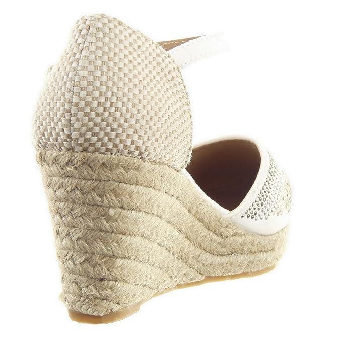 Sopily - Zapatillas de Moda alpargatas Zapatillas de plataforma ...