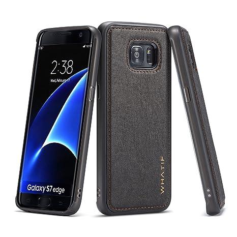 Coque Galaxy S7 Edge,Fatcatparadise Premium Étui étanche de Luxe TPU  Durable Case  Matériau 9c2b9cc3d405