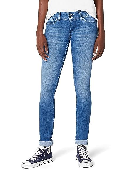 76741e4d Pepe Jeans Vaqueros Slim para Mujer: Amazon.es: Ropa y accesorios