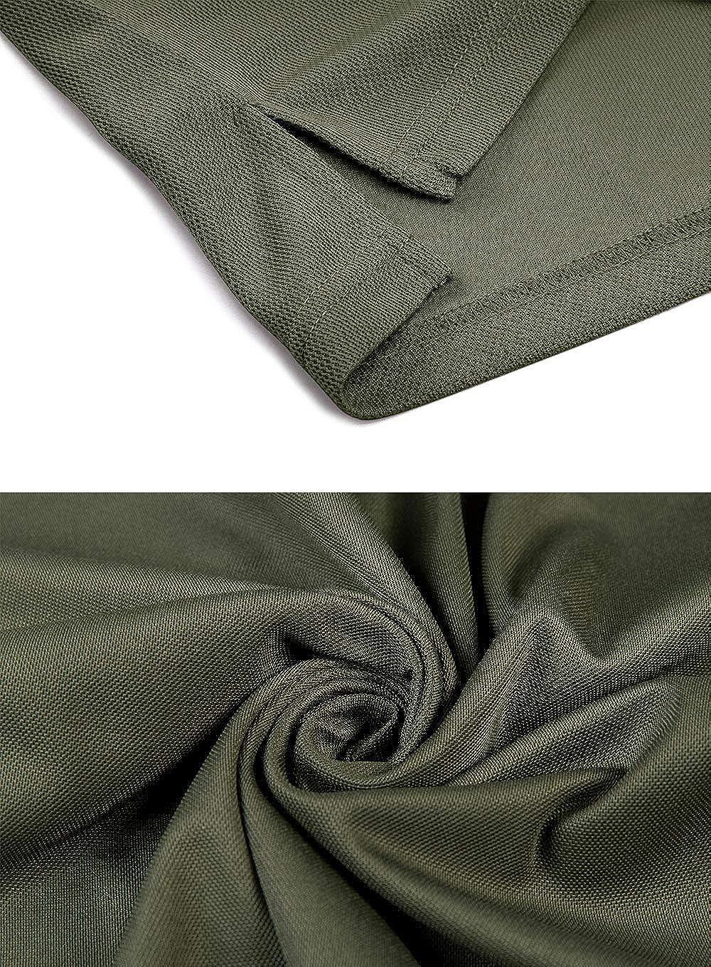 Camisas t/ácticas para Hombre para Deportes de Golf Manga Larga EKLENTSON Ligero de Secado r/ápido Transpirable Estilo Militar