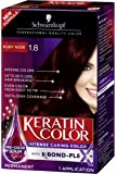 Schwarzkopf Keratin Hair Color, Ruby Noir 1.8, 2.03 Ounce by Schwarzkopf