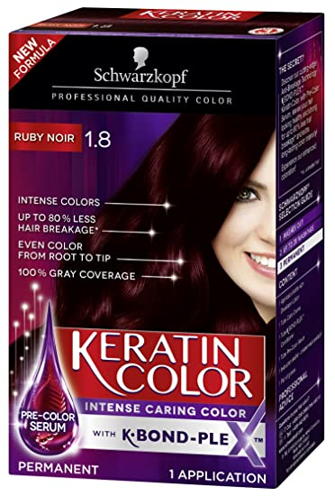 Amazon Schwarzkopf Keratin Color Anti Age Hair Color Cream