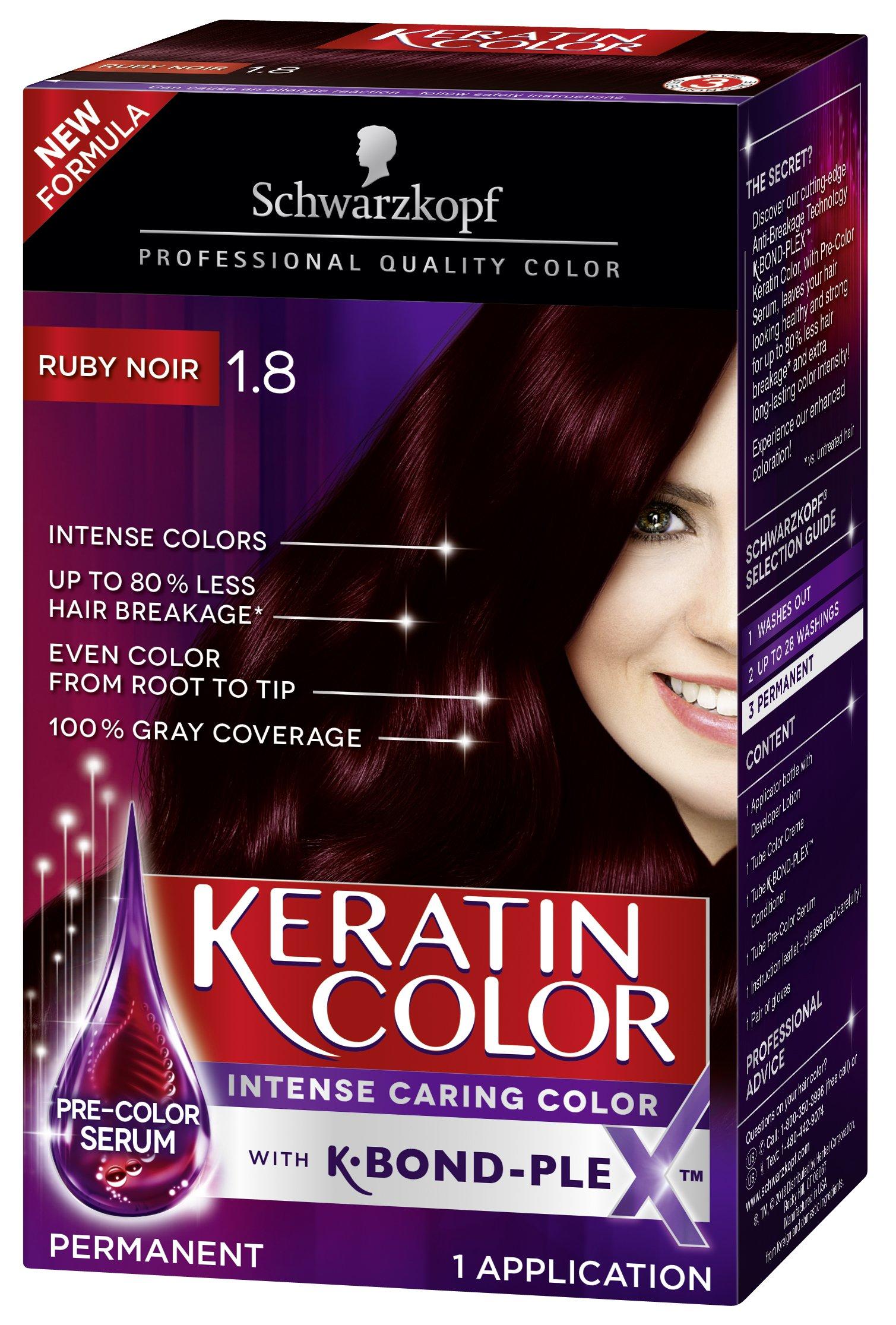 Amazon Schwarzkopf Keratin Color Anti Age Hair Color Cream