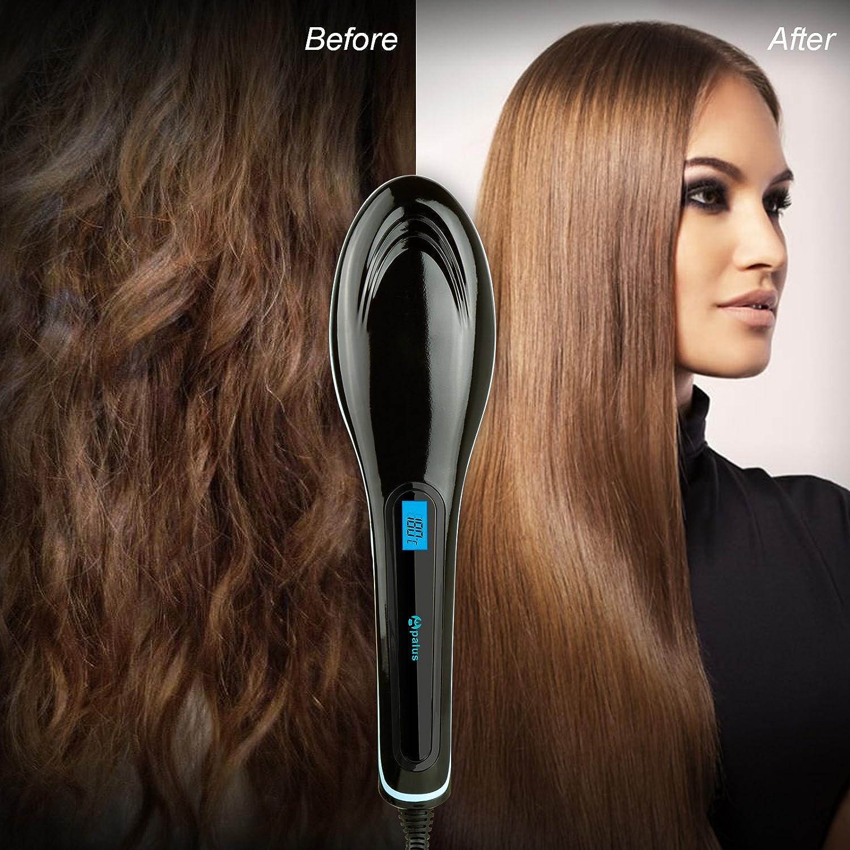 Cepillo Apalus para alisar el pelo y cuidar los aniones, antiescaldaduras, sin daños: Amazon.es: Belleza