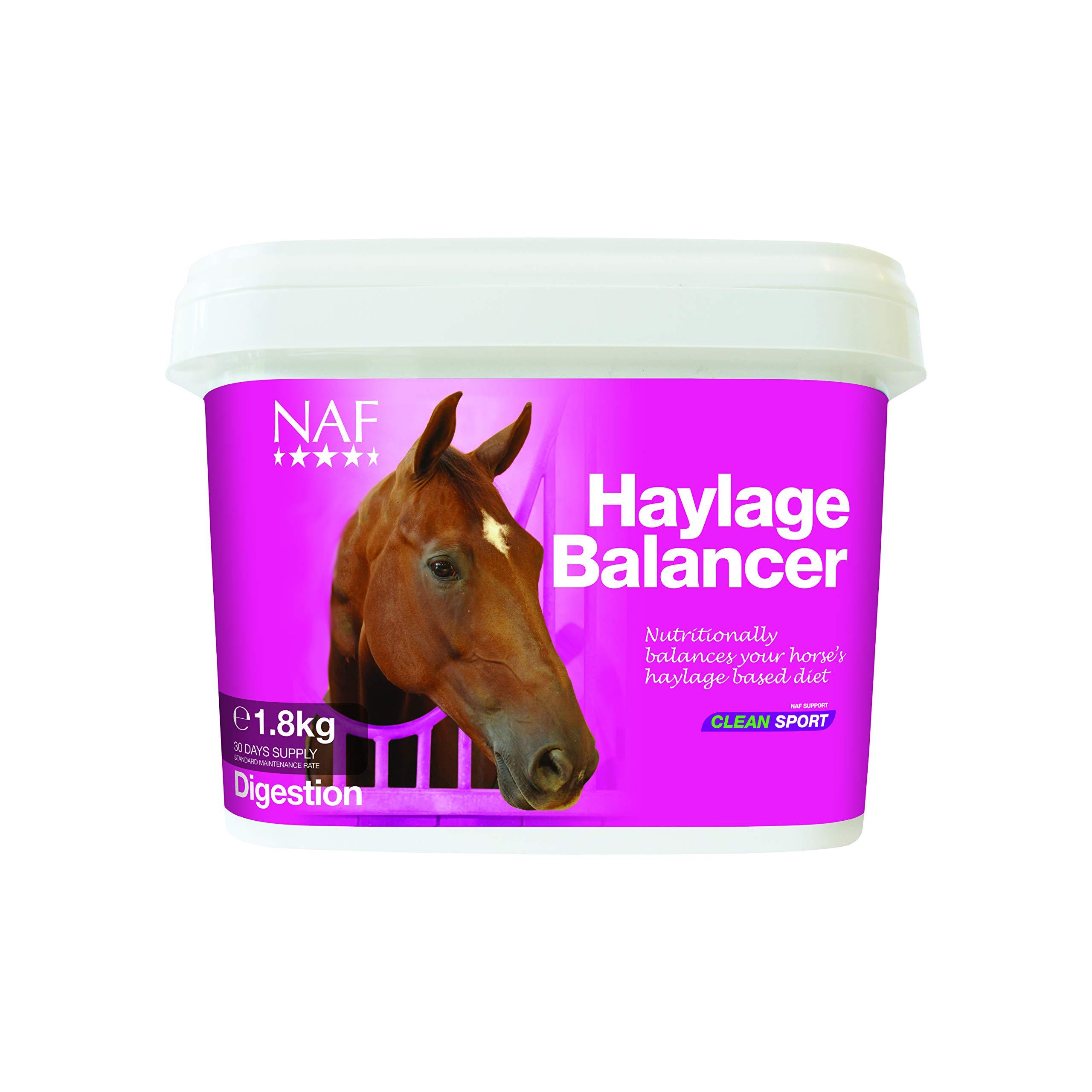 NAF Haylage Balancer Digestion Supplement 1.8kg Clear by NAF NAF