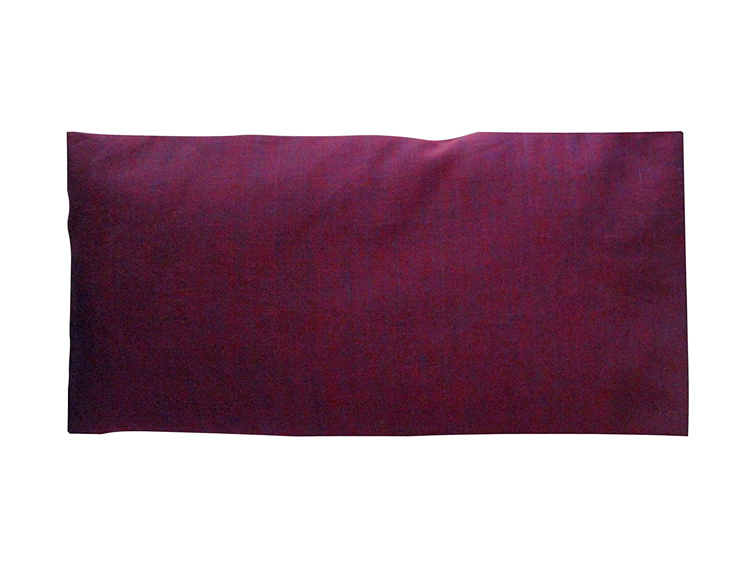 Peacegoods Cotton Eye Pillow COVER 4.5 x 9 Washable - fits our eye pillows or yours - yoga aromatherapy mediation massage - purple pink berry maroon Hunki Dori