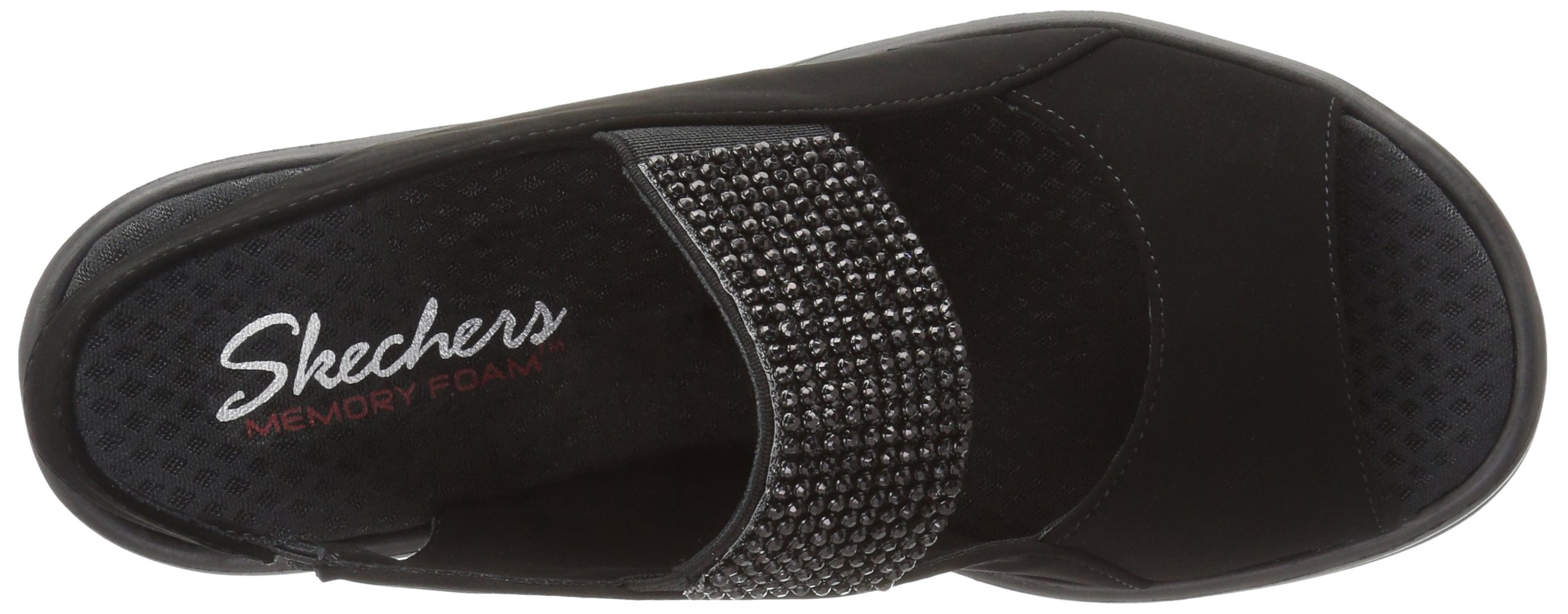 3ced46f07f80 Skechers Cali Women s Rumblers Sparkle on Wedge Sandal   Platforms   Wedges    Clothing