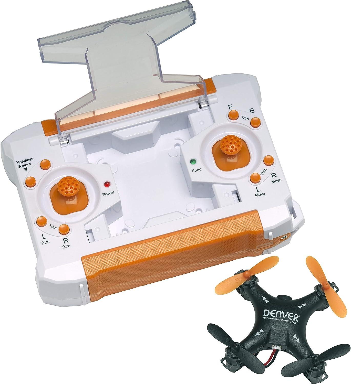 Denver Electronics 117101010020 Dron de Tamaño Pequeño, Negro ...