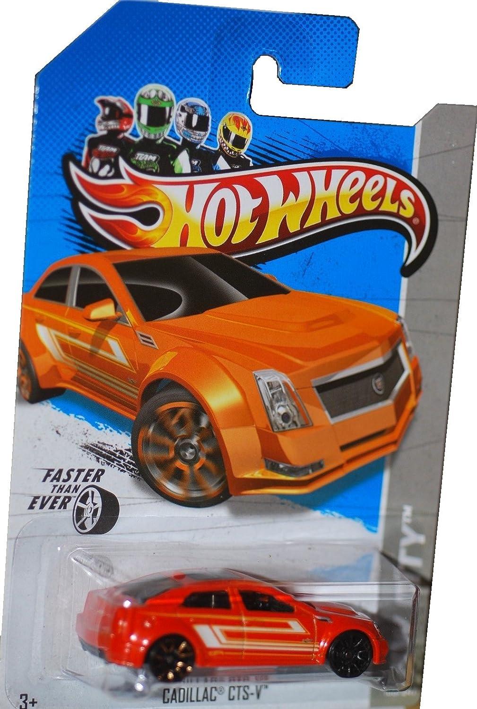 Scale 1:64 100//247 Cadillac CTS-V HW City Mattel Hot Wheels