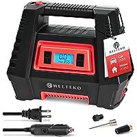 $44 » Helteko Air Compressor Tire Inflator AC/DC, Electric Digital Tire Pump for Car 12V and Home…